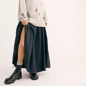 CP SHADES Lily Flannel Maxi Skirt